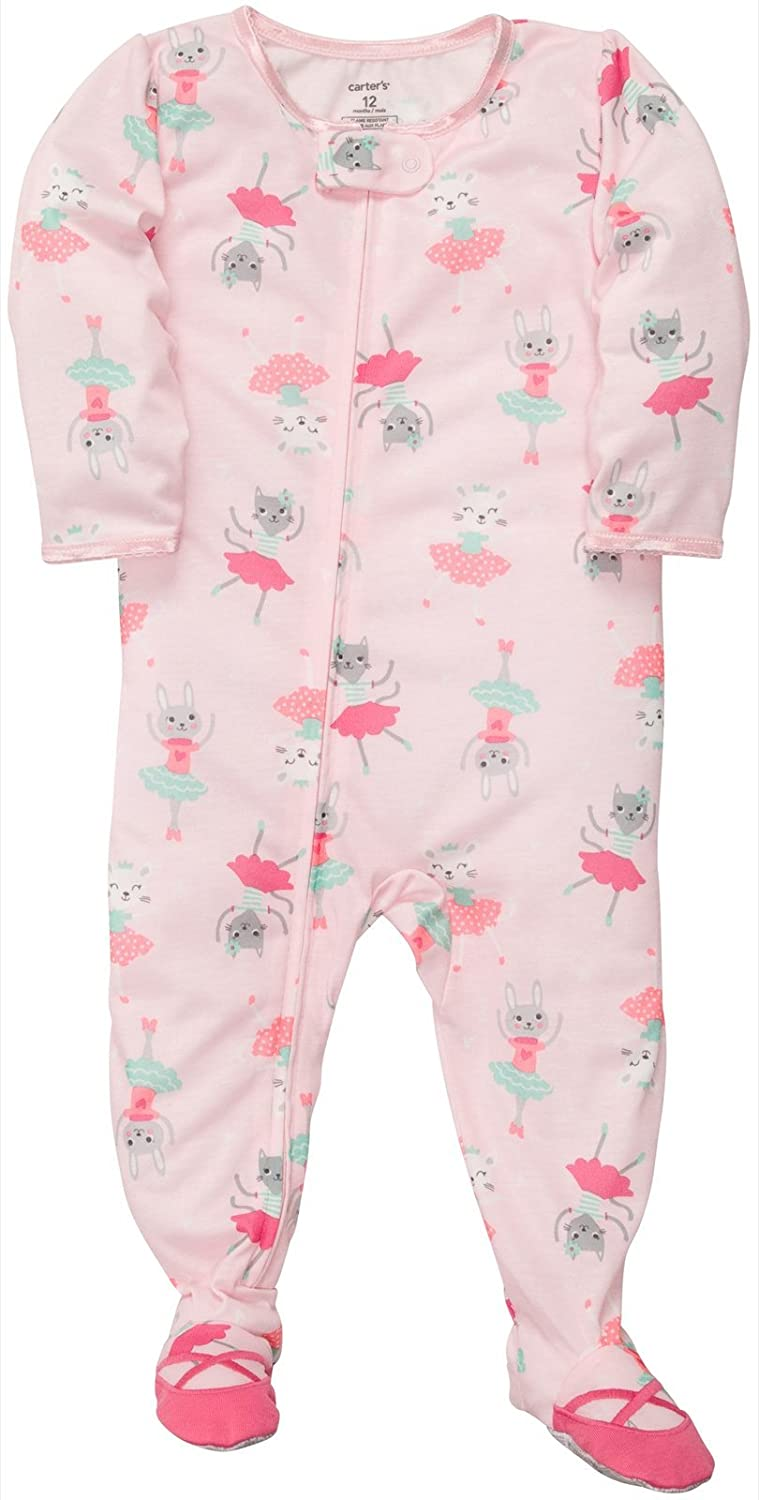 0f9f624d8 Amazon.com: Carter's Baby Girls' 1-pc - Ballerina Bunnies - 24 Months:  Infant And Toddler Pajama Sets: Clothing