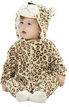 Tonwhar recién nacido niño niña leopardo animal de disfraces ...