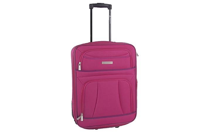 17be6ab6c6 Valigia trolley semirigido LANCETTI fuxia mini bagaglio a mano ryanair  S336T: Amazon.it: Abbigliamento