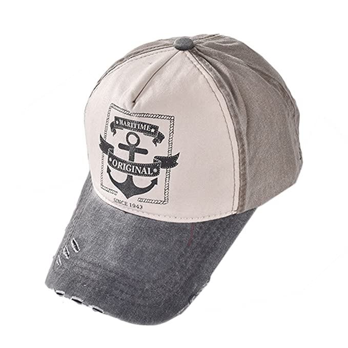 KeepSa Männer Frauen Baseball Cap Vintage Trucker Cap Sport Snapback  gewaschen Verstellbar Baumwolle hat d60f5ddb96