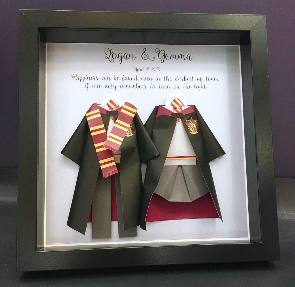 Amazon Com Harry Potter Wedding Gift First Anniversary Paper Harry Potter And Hermione Hogwarts Paper Bride Groom Shadowbox Frame Wall Art Gift Handmade Stream tracks and playlists from josh potter 18 on your. harry potter wedding gift first anniversary paper harry potter and hermione hogwarts paper bride groom shadowbox frame wall art gift