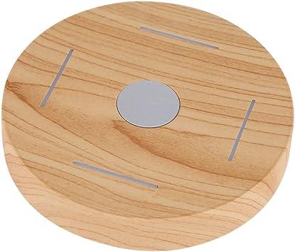 Kafuty Florero de Plataforma de levitación magnética LED Planta de ...