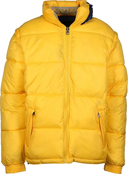 Karl Kani Bubble Chaqueta de Invierno Yellow/Blue: Amazon.es: Ropa y accesorios