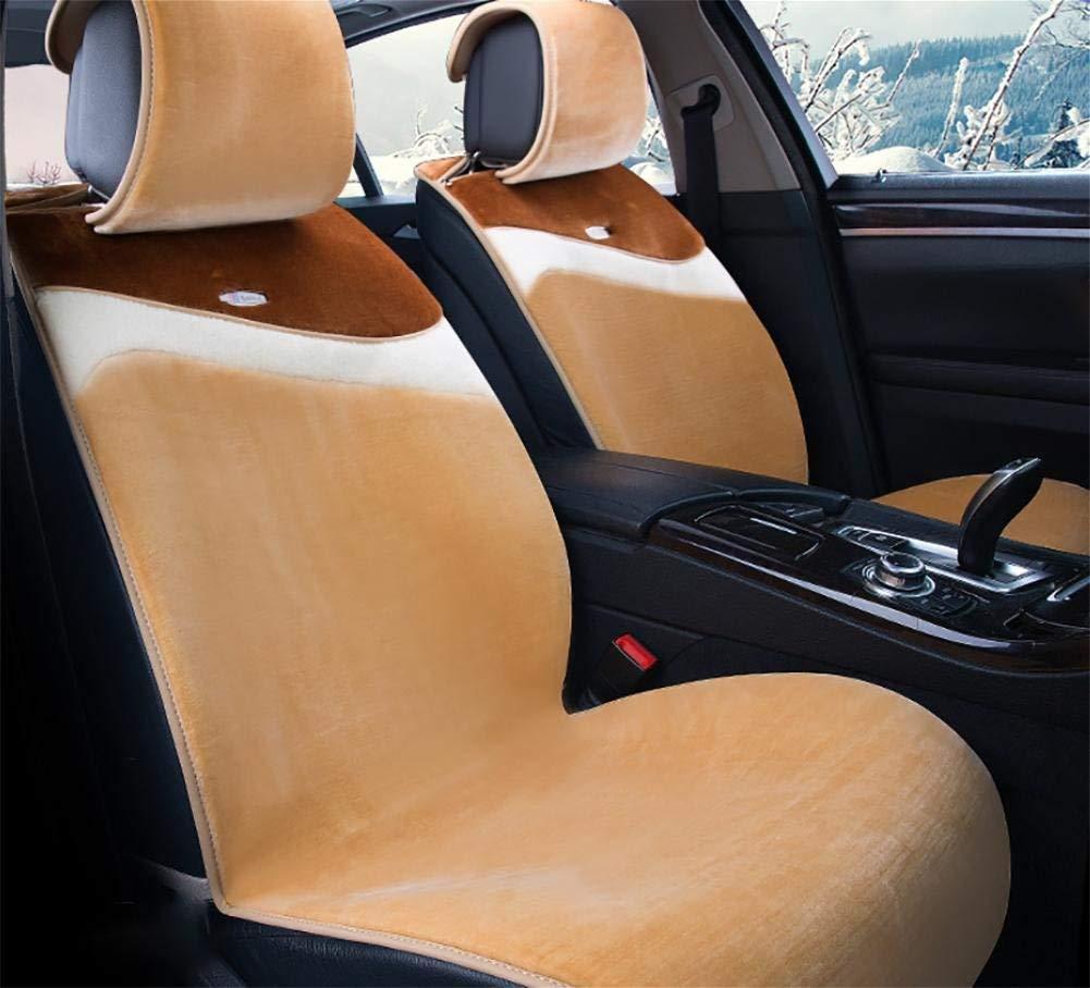カーカーシートプロテクター用シートカバー カーアクセサリークッションカバースタンダードエディション(7セット)デラックスエディション(11セット)車のユニバーサルぬいぐるみ非接着アンチスリップフォーシーズンズ5色、#39 カーシートクッションカーシートマット (色 : #35)