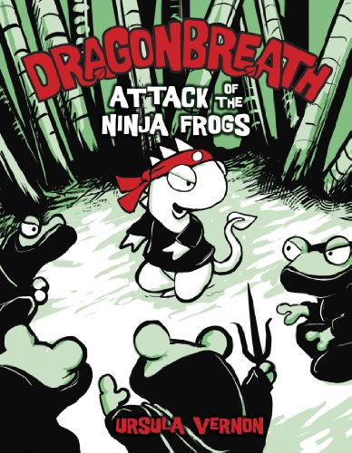 (Dragonbreath #2: Attack of the Ninja Frogs)