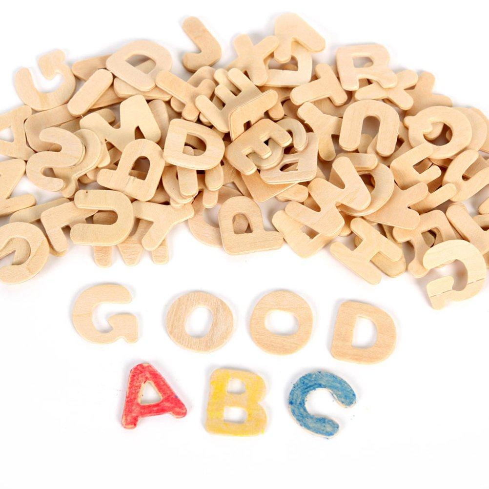 ultnice letras decorativas conjunto de lettrage (madera de madera DIY de madera