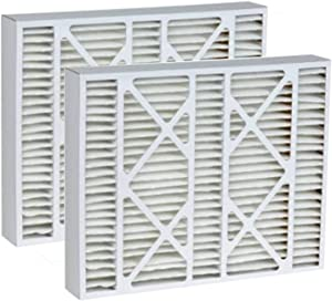 Tier1 20x20x5 Merv 8 Replacement for Honeywell FC100A1011 & 5202013 AC Furnace Air Filter 2 Pack