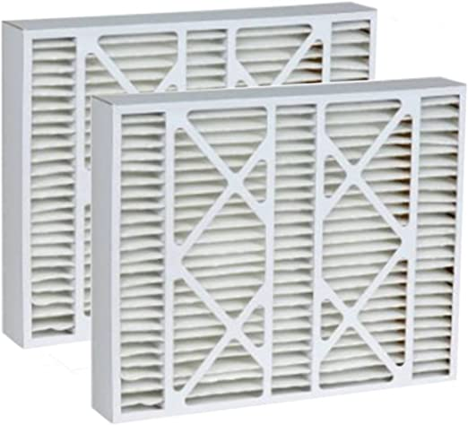 Lennox 20x25x5 Merv 13 Replacement AC Furnace Air Filter 2 Pack