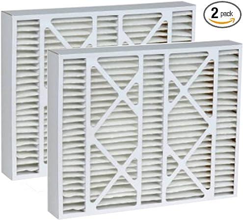 2 Pack Lennox 20x25x5 Merv 13 Replacement AC Furnace Air