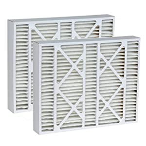 Tier1 20x25x5 Merv 11 Replacement for Lennox AC Furnace Air Filter 2 Pack