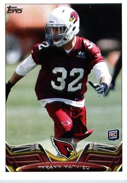 2013 Topps Football Card  211 Tyrann Mathieu RC - Arizona Cardinals (RC -  Rookie 866336856