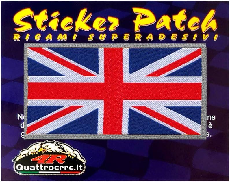 4r Quattroerre It 14504 Klebepatch Für Stoff Englische Flagge Auto