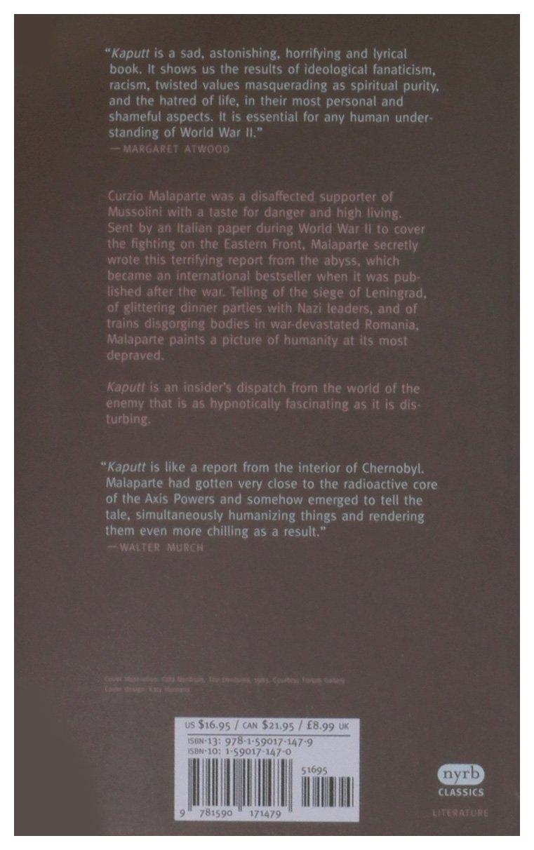 Kaputt (New York Review Books Classics): Amazon.es: Curzio Malaparte, Dan Hofstadter: Libros en idiomas extranjeros