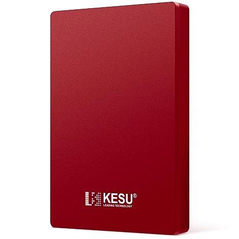 "KESU Disco Duro Externo Portátil 2.5"" 500GB, USB3.0 SATA HDD almacenamiento para"