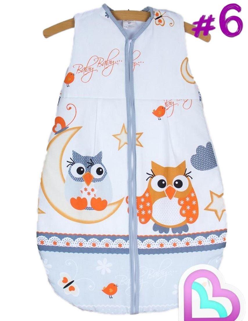 Baby Sleeping Bag 6-18 Months/86 cm Cotton Travel Bag - Pattern 6 Baby Comfort