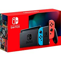 Deals on Nintendo Switch with Neon Blue and Neon Red Joy‑Con