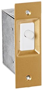 "Electric Door Switch, Light ON When Open, 125/250VAC, 1-1/4"" Width, 3-7/8"" Height, 2"" Depth"