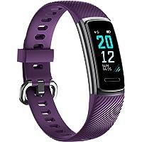 TOOBUR Orologio Fitness Tracker per Donna Uomo Bambini, IP68 Impermeabile Cardiofrequenzimetro da Polso Smartwatch, Contapassi Calorie Activity Tracker Smartband con Monitoraggio Sonno