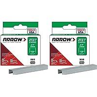 Arrow Fastener 276 Genuine JT21/T27 3/8-Inch Staples, 1,000 (2 Pack)