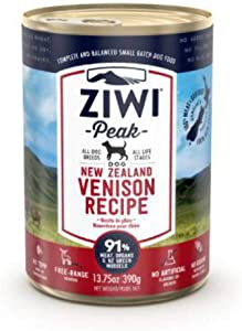 Ziwipeak Zpcdv0390C-Us Venison Pet Food, 13.75 Oz