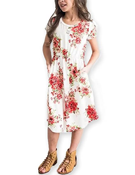 Girls' Clothing Kids Dresses Solid A Line Girls Clothing Summer 2018 Casual Children Clothing Dress For Girl Daily School 6 12t Kids Clothes Mother & Kids
