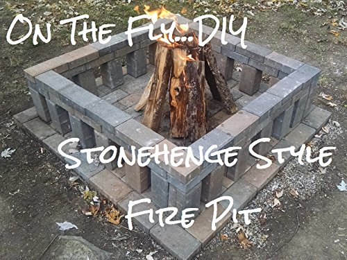 Stonehenge Style Fire Pit