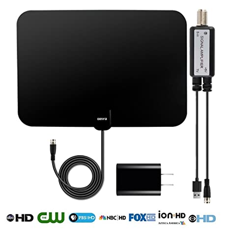 Review Digital TV Antenna,Amplified HD