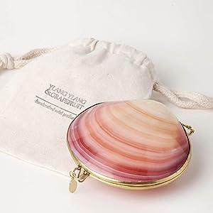 Solid Perfume - Ylang Ylang & Grapefruit Fragrance by Roots Rose Radish - All Natural & Organic - 1 oz