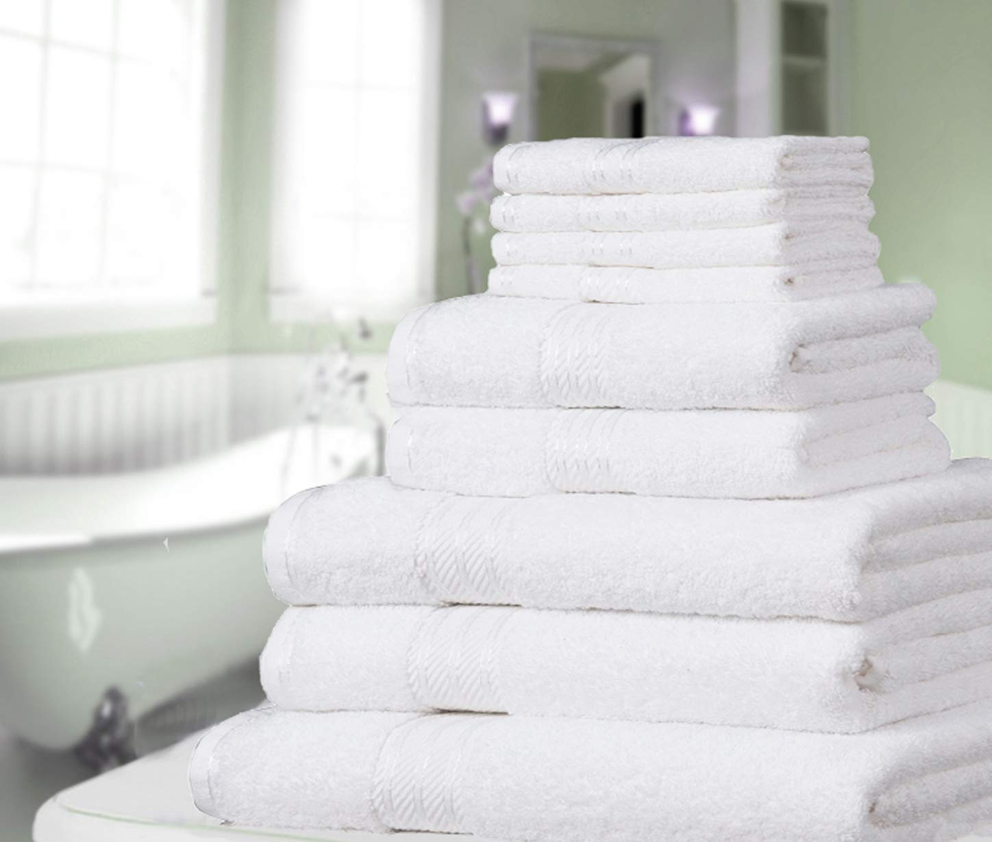 Restmor Hand towels avilable in 4 colours