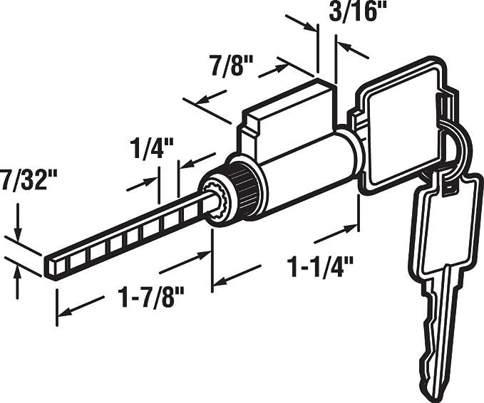 Weslock 5 Pin Tumbler
