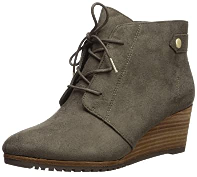 a1db8578334a3 Dr. Scholl's Shoes Women's Conquer Ankle Boot, Olive Green Microfiber, 6 W  US