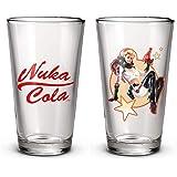 Fallout Nuka Cola Conjunto de 2 frascos de vidro