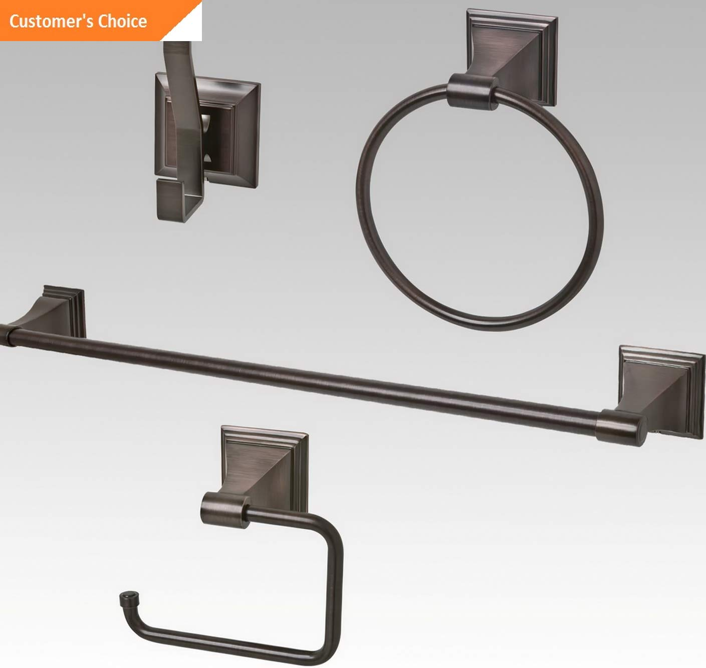 Venetian Bronze Bathroom Accessories Amazon.com: Werrox Oil Rubbed Bronze Bathroom Hardware Accessory Set |  Model BTHRMCCSSR - 227 |: Home u0026 Kitchen