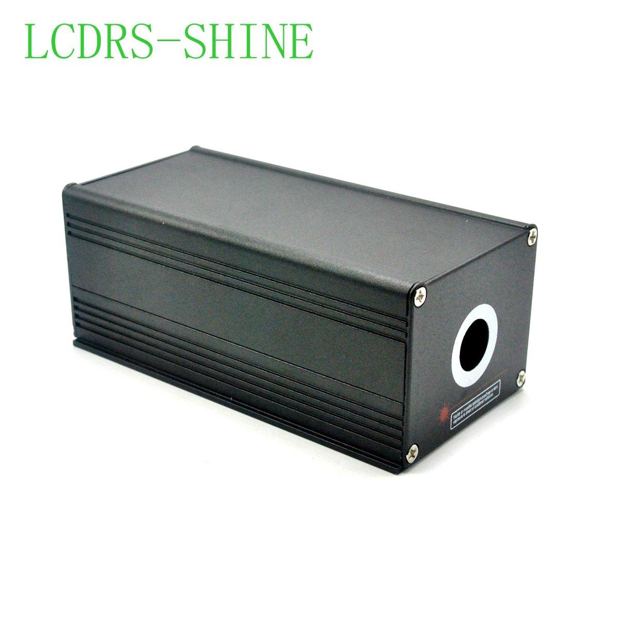 12V 80mw 532nm High Power Industrial Green Fat Beam Laser Dot Module w//Adapter