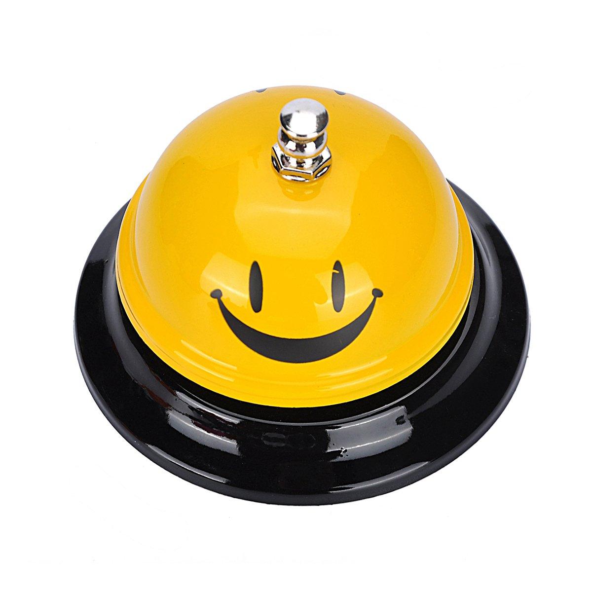 Yeenee Call Bell per ristorante Concierge hotel bar cucina gioco anello con smiley design W0A0A1A9S