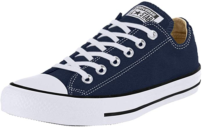 Converse Chucks (Chuck Taylor) All Star Ox Low Tops Unisex Damen Herren Marineblau
