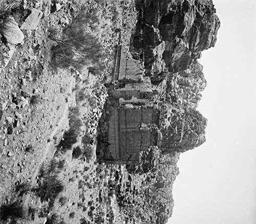 Temple of Kasr Firaun in Petra, Jordan Photograph Collectible Art Print, Wall Decor Travel