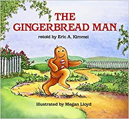 Book The Gingerbread Man
