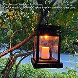 Beinhome Solar Lanterns Outdoor Hanging Waterproof