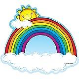 Carson Dellosa D.J. Inkers Rainbows Cut-Outs (620024)