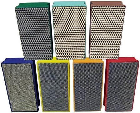Diamond Hand Polishing Pads by Alpha – 7 Piece Kit