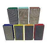 Diamond Hand Polishing Pads by Alpha - 7 Piece Kit