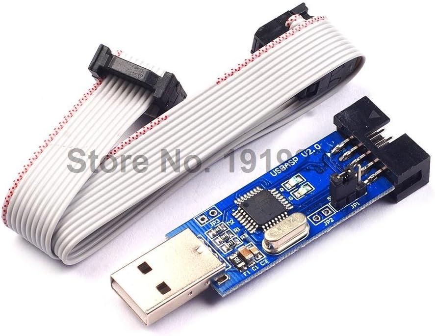 Gimax 1LOT USBASP USBISP AVR Programmer USB ISP USB ASP ATMEGA8 ATMEGA128 Support Win7 64K