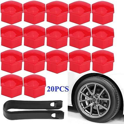 High Qualty Lug Nut Covers 20pcs Set for Auto Car Wheel Rim Tire Bolt Center Cap