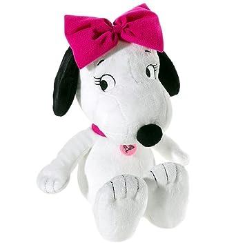 El Peanuts - Snoopy hermana Belle peluche, 30 cm