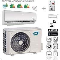 Diloc - Frozen - Climatiseur Wi-Fi, Inverter, gaz R32, compresseur Sharp