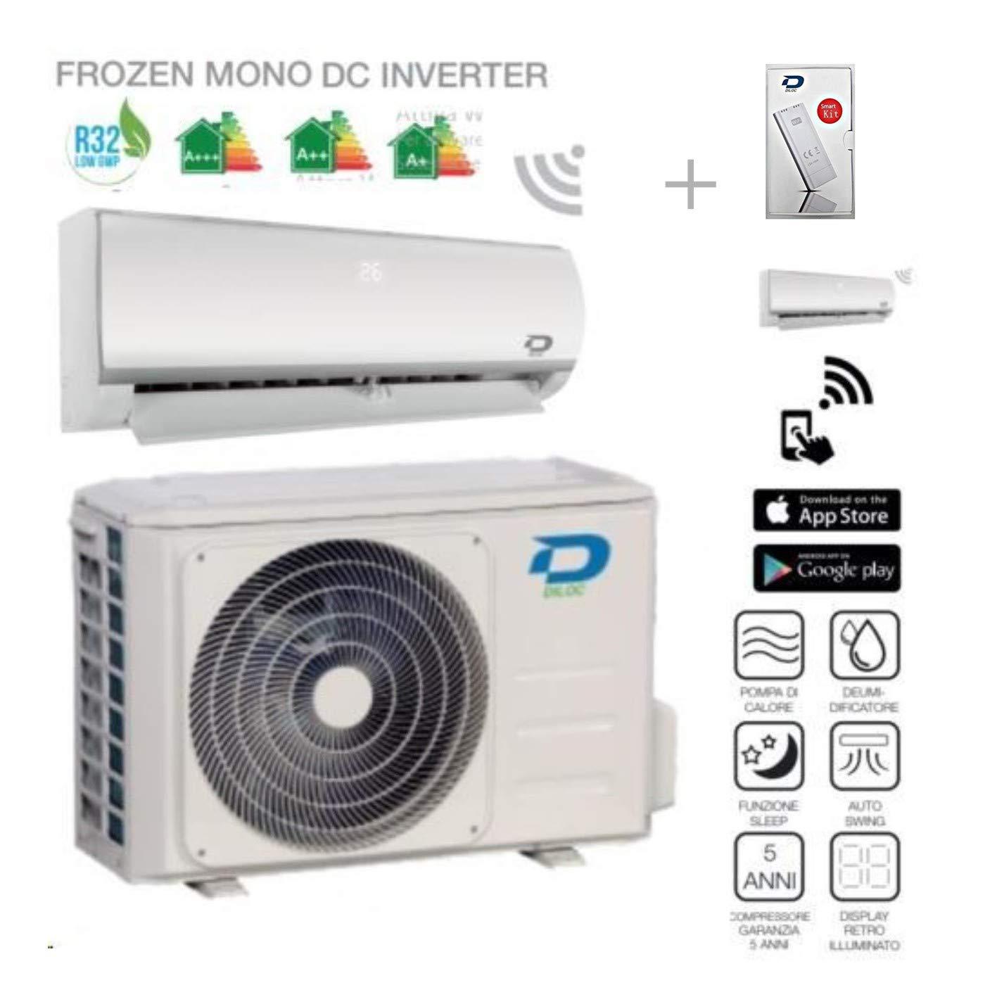 Diloc Frozen Aire Acondicionado Wifi Climatizador Inverter ...