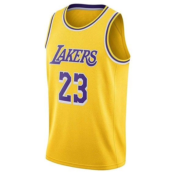 N&G SPORTS Lebron James, Camiseta de Baloncesto, Lakers, Camiseta Deportiva, Chaleco Transpirable de Secado rápido: Amazon.es: Ropa y accesorios