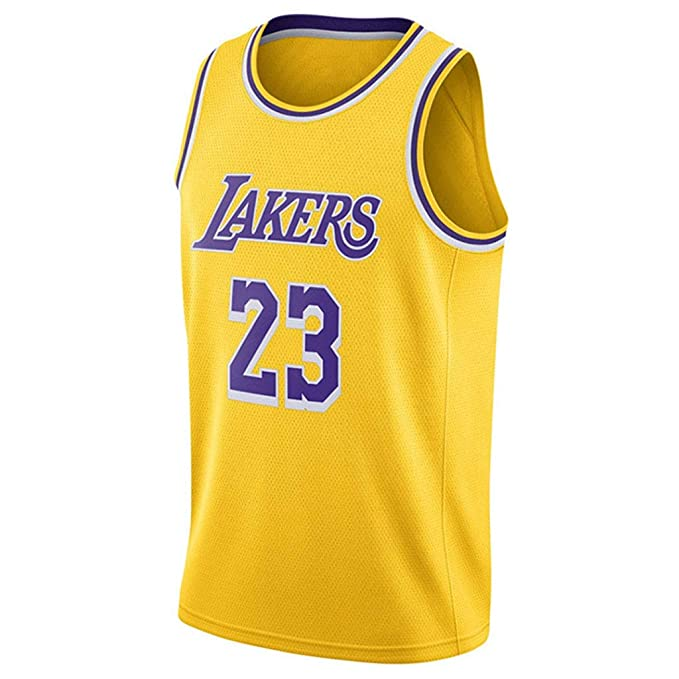 N&G SPORTS Lebron James, Camiseta de Baloncesto, Lakers, Camiseta Deportiva, Chaleco Transpirable