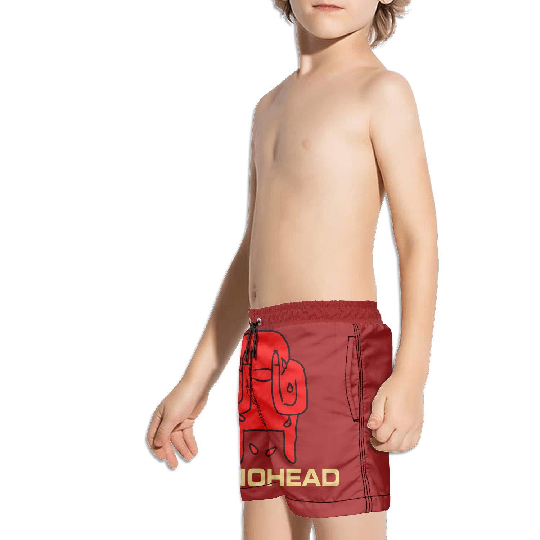 Kids Brief Side Split Fully Lined Swim Side Split Shorts
